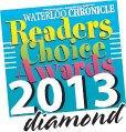 Waterloo Chronicle 2013 Readers Choice Winner Diamond