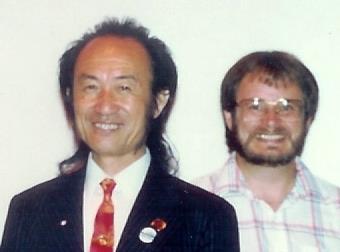 Master Pan Qing Fu and Sifu Lloyd Fridenburg