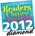Waterloo Chronicle 2012 Readers Choice Winner Diamond