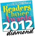 Waterloo Chronicle 2012 Readers Choice Winner Diamond