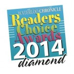"WKFA voted ""Winner for best Martial Arts"", Waterloo Chronicle Readers' Choice Awards 2014"