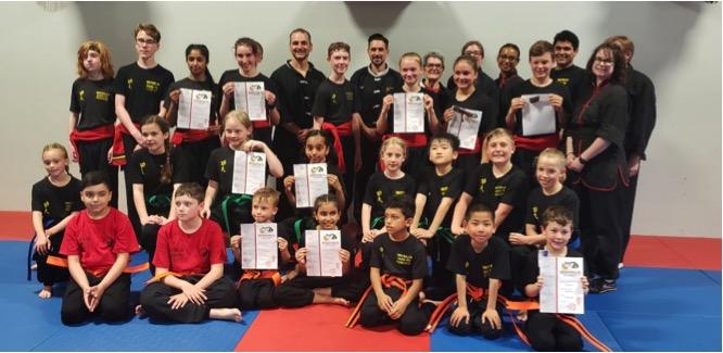 Accomplished Waterloo Kung-Fu Academy Students