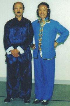 Founder, Sigung Bob Schneider & Grand Master Pan Qing Fu.